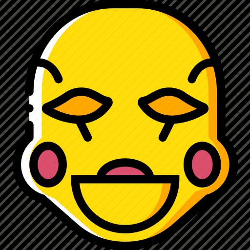 creepy, emojis, halloween, mangol, scary, spooky icon