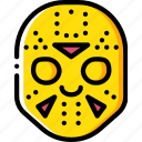 creepy, emojis, halloween, jason, scary, spooky icon