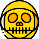 creepy, emojis, grim, halloween, reaper, scary, spooky icon