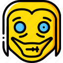 creepy, emojis, halloween, jeff, killer, scary, spooky