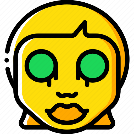 Creepy, dead, emojis, halloween, horror, scary, spooky icon | Icon ...