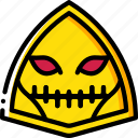 creepy, emojis, halloween, scary, skull, spooky icon
