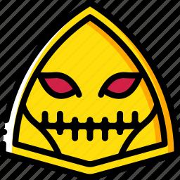 creepy, emojis, halloween, scary, skull, spooky icon
