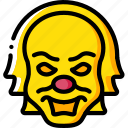 creepy, emojis, halloween, it, scary, spooky icon