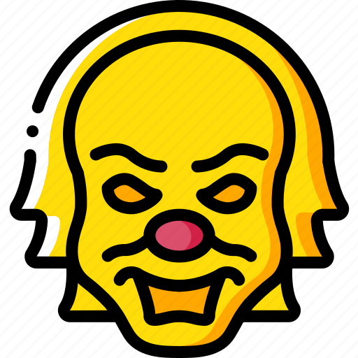 creepy, emojis, halloween, it, scary, spooky icon