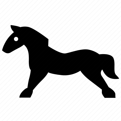 game, horse, riding, toy icon