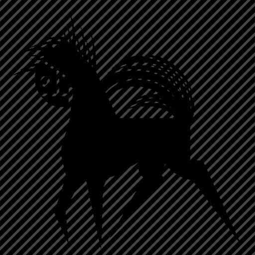 animal, horse, mare, nature, pony, speed, stud icon