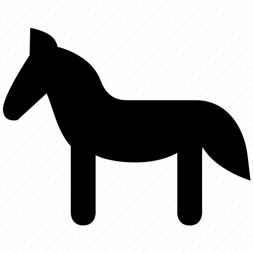 agriculture, animal, animals, farm, horse, nature, zoo icon
