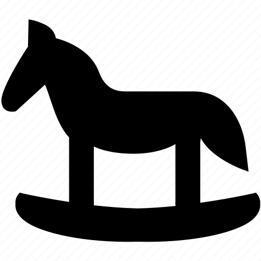 baby, child, children, horse, kid, swing, toy icon