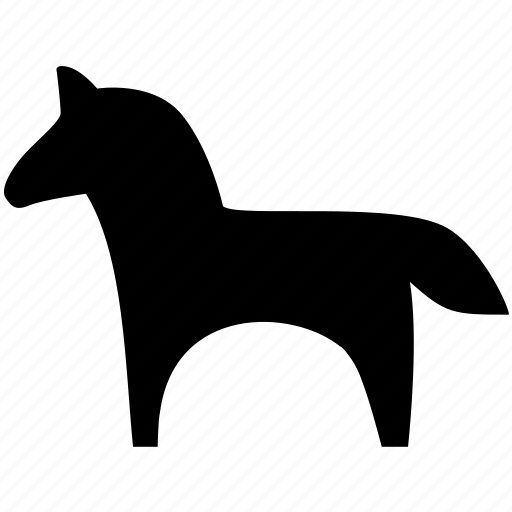 animal, farm, horse, pet, toy, zoo icon