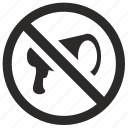ambassador, ban, cancel, democratic, instrument, rule icon