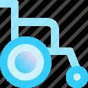 chair, disability, health, hospital, wheel