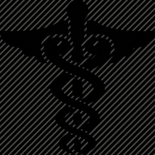asclepius, caduceus, health, healthcare, medical, medicine icon