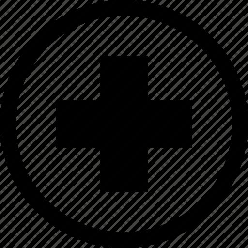 Cross, health, hospital, medicine, sign, medical icon - Download on Iconfinder