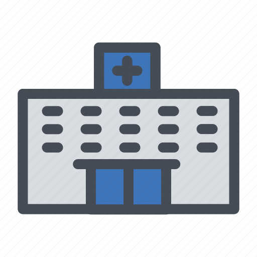 building, clinic, healthcare, hospital, medicalcanter icon