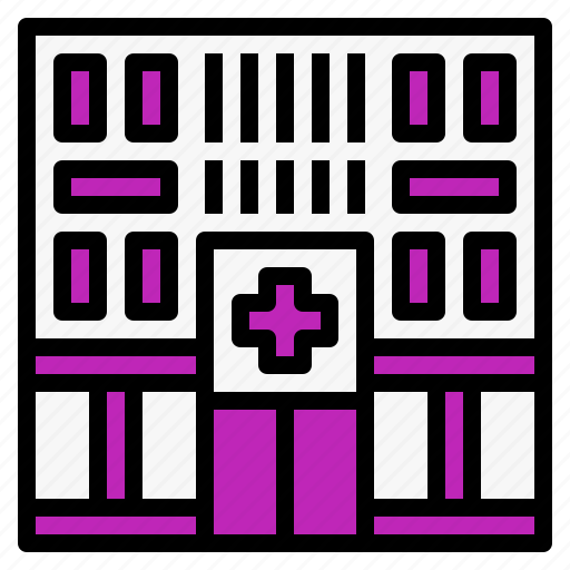 Building, clinic, construction, estate, hospital, medical icon - Download on Iconfinder