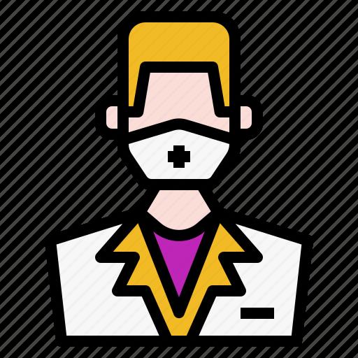Avatar, Face, Male, Men, Nurse, Profile, User Icon