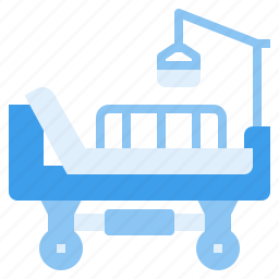 bed, hospital, service, treatment icon