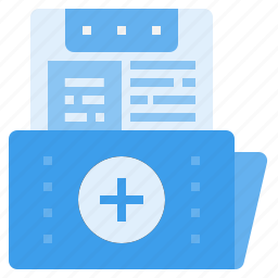 data, document, file, folder, hospital, medical, record icon