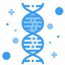 chromosome, dna, gene, genetic, genome, hospital icon