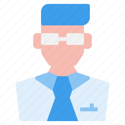 avatar, doctor, face, male, man, profile, user icon