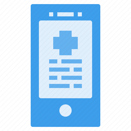 care, hospital, medical, mobile, smartphone, treatment icon