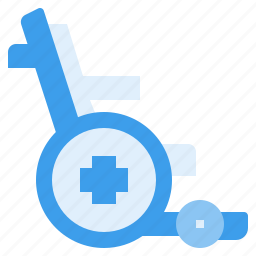 disability, disabled, handicap, patient, wheelchair icon