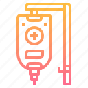 blood, infusion, medical, saline, transfusion icon
