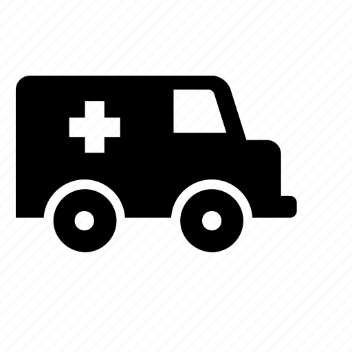ambulance, hospital, medical, transport, truck icon