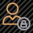 account, avatar, private, profile, user icon