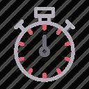alert, clock, deadline, stopwatch, timer icon