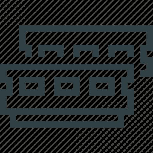 hosting, panel, terminal icon