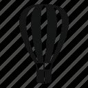 air, balloon, basket, flight, freedom, high, journey icon