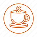 cup, coffee, drink, relax, tea icon