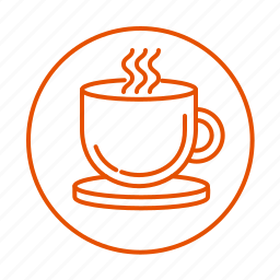 coffe, cup, drink, relax, tea icon