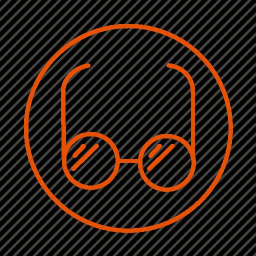 glasses, hot, protection, sun, sunglasses icon