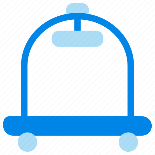 Hotel, room, service, trolley icon - Download on Iconfinder
