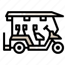 cart, golfcar, transport, vehicle icon