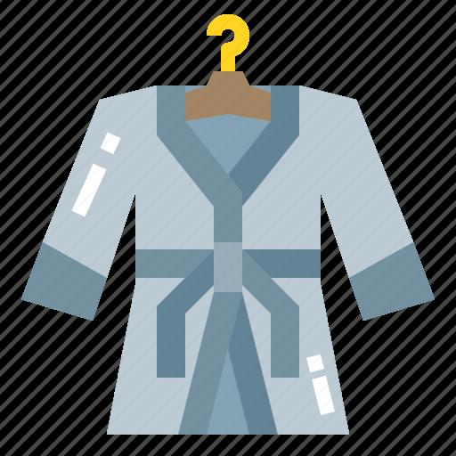 Bathrobe, clothing, luxury, robe icon - Download on Iconfinder