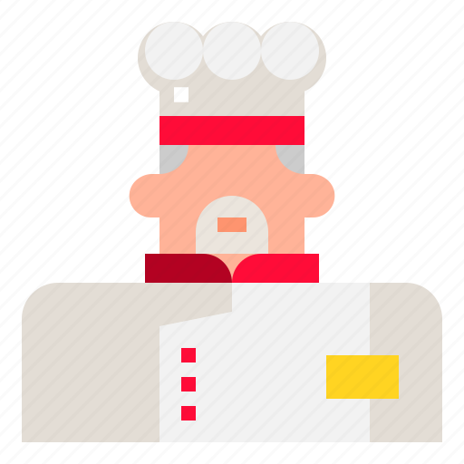 chef, cooking, professional, restaurant icon