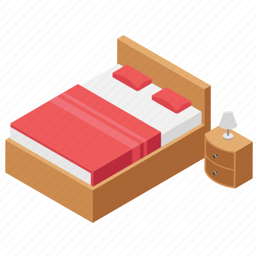 accomodation, hotel bed, hotel booking, hotel reservation, master bedroom icon