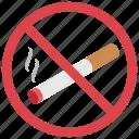 avoid smoking, no smoking, not smoking area, smoking not allowed, smoking prohibition icon
