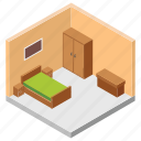 accomodation, hotel bedroom, hotel booking, master bedroom, room reservation icon