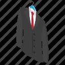 business dress, businessman coat, coat dry clean, formal dress, hanged dress icon