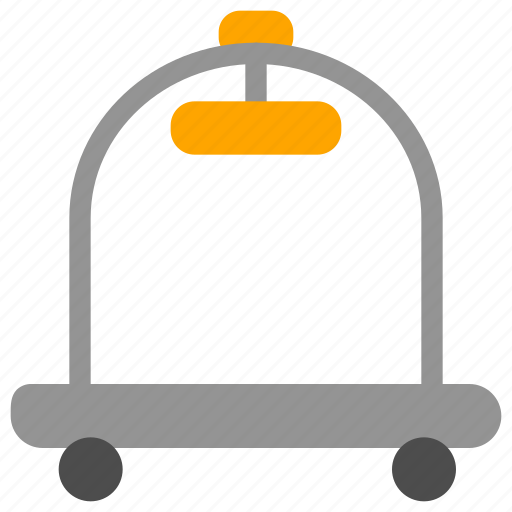 Hotel, room, service, support, trolley icon - Download on Iconfinder
