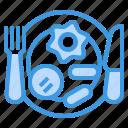 breakfast, holiday, hotel, service, travel, vacation icon