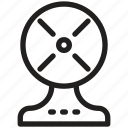 blower, exhaust fan, turbine, ventilation, venting icon