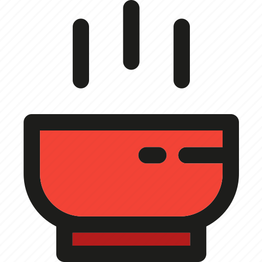 bowl, food, hot, kitchen, meal, restaurant, soup icon