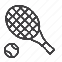 ball, game, racket, tennis icon