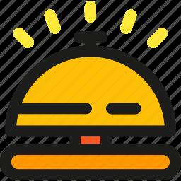 alarm, alert, attention, bell, error, notification, warning icon